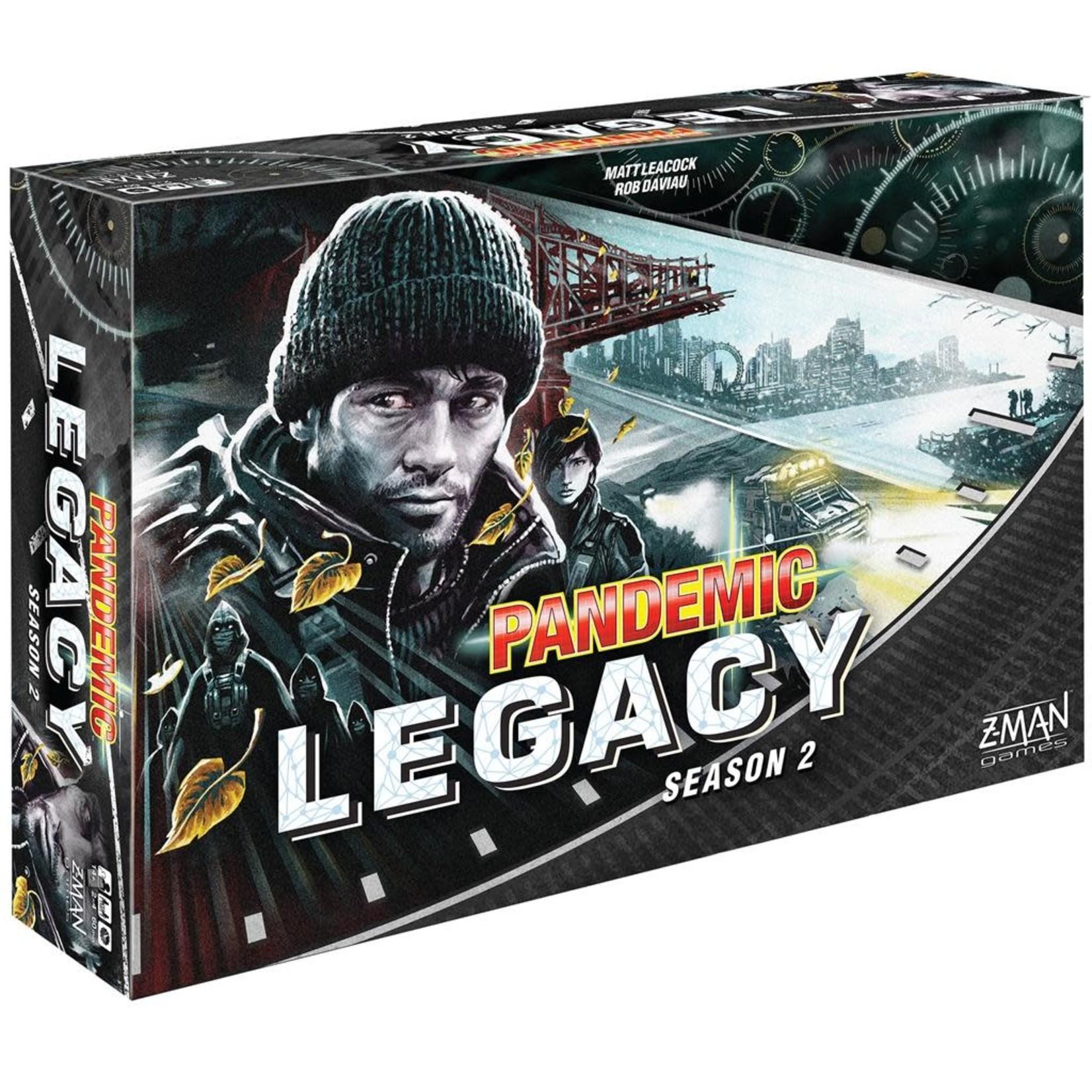 Pandemic Legacy: Season 2 Black Edition