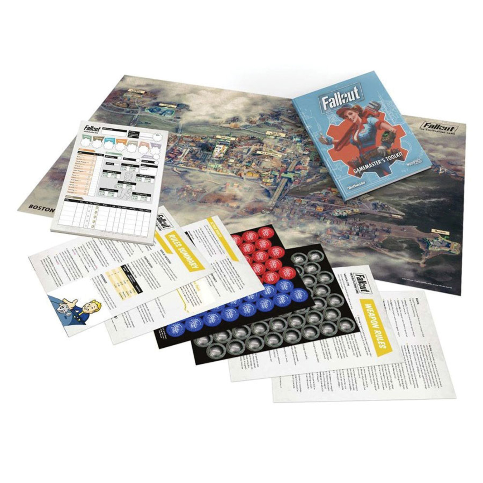 PRE-ORDER  Fallout RPG: GM`s Toolkit