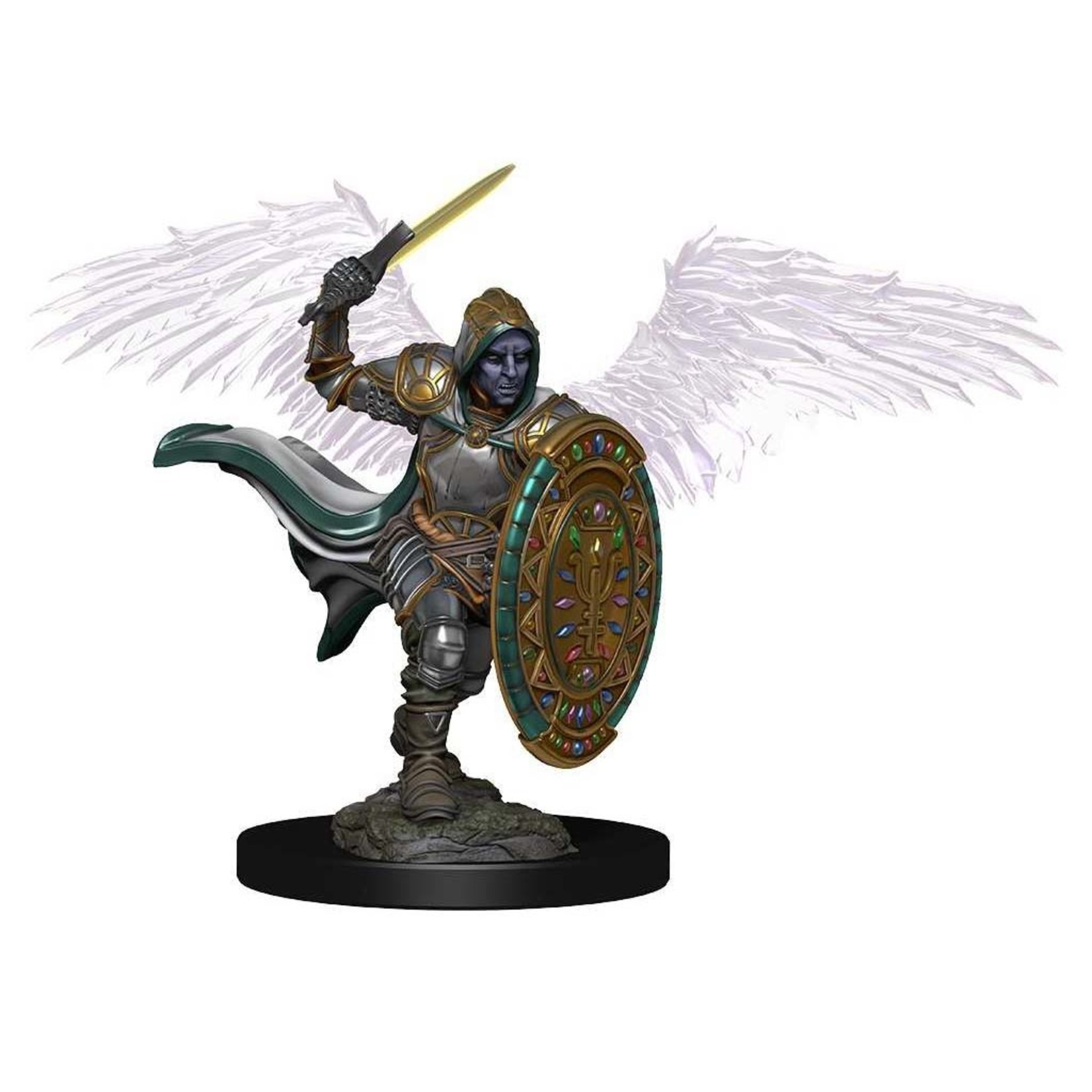 Aasimar Male Paladin Dungeons & Dragons Icons of the Realms Premium Figures: W2