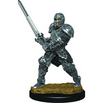 Human Male Fighter Dungeons & Dragons Fantasy Miniatures: Icons of the Realms Premium Figures W3