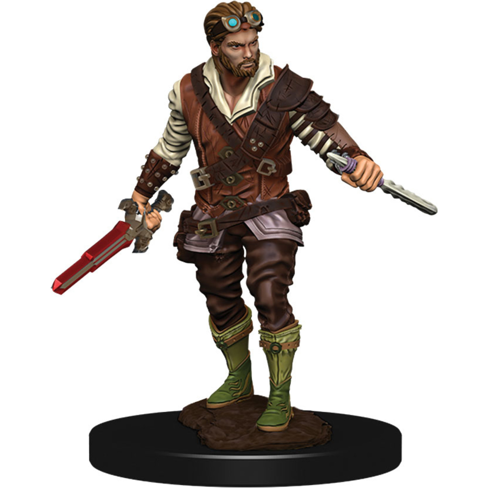 Human Rogue Male Dungeons & Dragons Fantasy Miniatures: Icons of the Realms Premium Figures W4