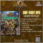 D&D5E  Iron Kingdom: Requiem One-Shot
