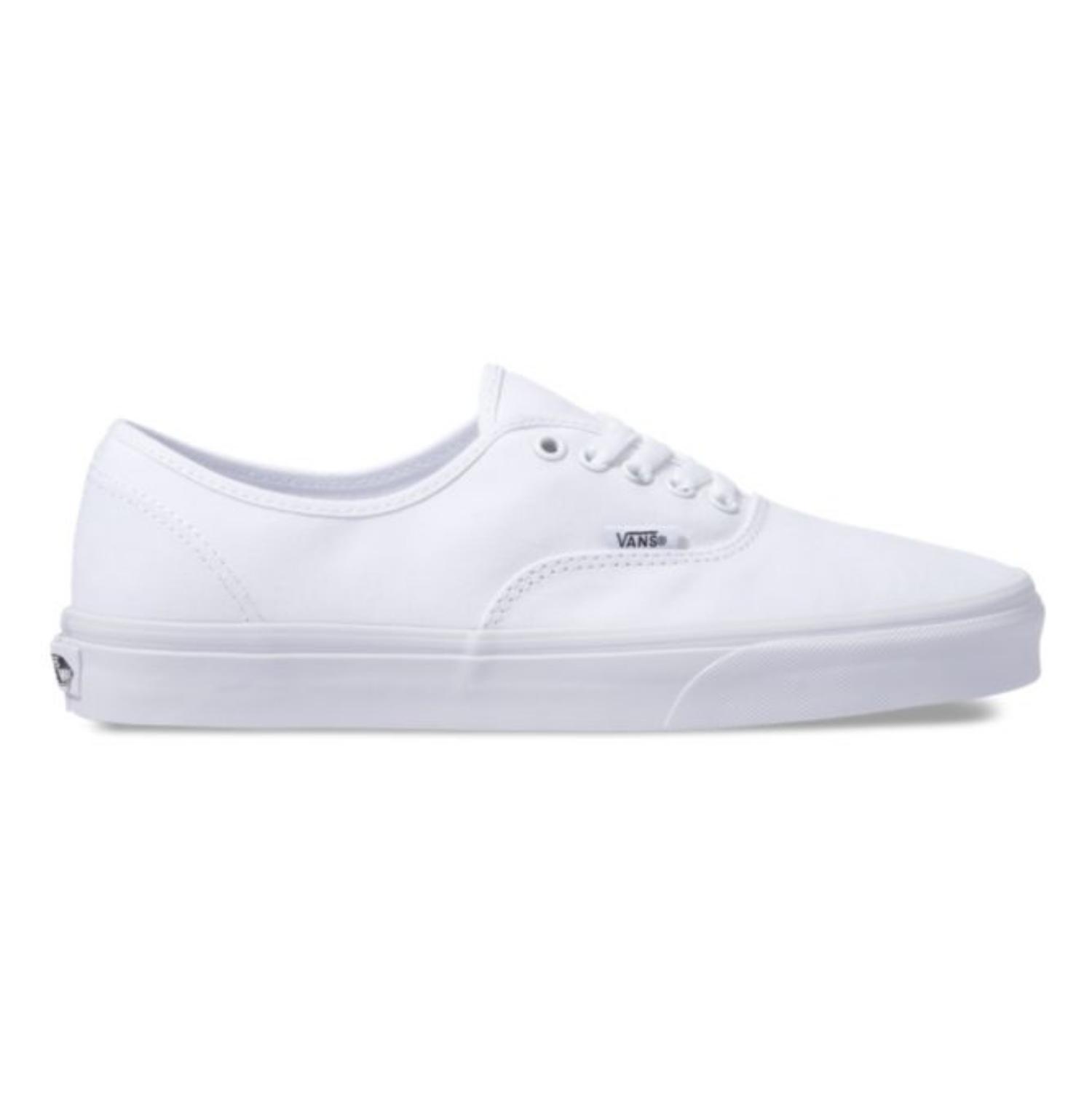 Vans Authentic True White Skate Shoes - Blauer Board Shop