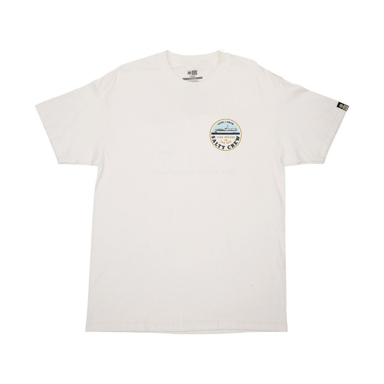 """Men/'s T-Shirt Sea Foam Salty Crew /""""Tippet/"""" Short Sleeve Tee"""