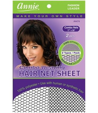 ANNIE Combo Weaving Hair Net Sheet