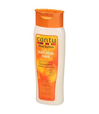 CANTU Natural Hair Sulfate Free Cleansing Cream Shampoo