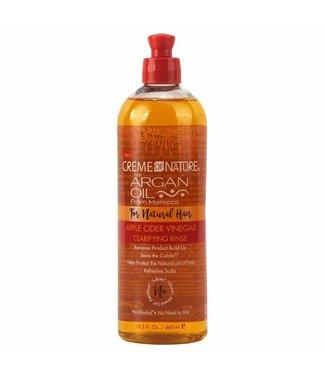 CREME OF NATURE Argan Oil Apple Cider Vinegar Clarifying Rinse
