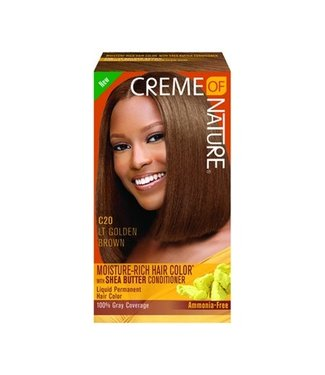 CREME OF NATURE C20 - Lt Golden Brown