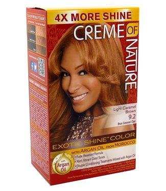 CREME OF NATURE Exotic Shine Caramel Brown