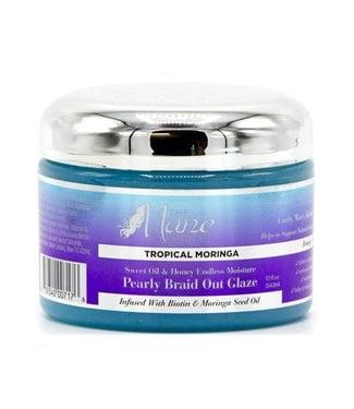 THE MANE CHOICE Tropical Moringa Sweet Oil&Honey Endless Moisture Pearly Braid Out Glaze