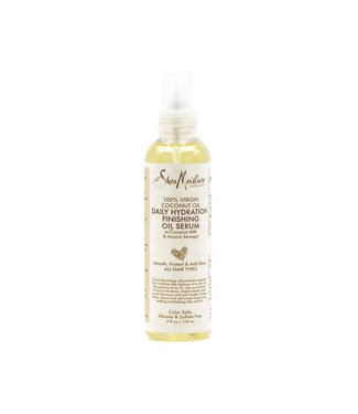 SHEA MOISTURE 100% Virgin Coconut Oil Daily Hydration Finishing Oil Serum (4oz)
