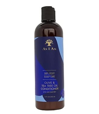 AS I AM Dry & Itchy Scalp Care Conditioner 12oz