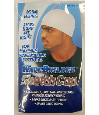 WAVE BUILDER Stretch Cap [White]