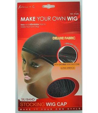 KIM & C Silicone Band Stocking Wig Cap