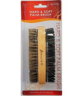 KIM & C Hard & Soft Palm Brush