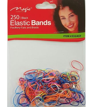 MAGIC GOLD COLLECTION 250 Elastic Ponytailers