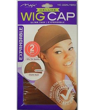 MAGIC GOLD COLLECTION Wig Cap 2pcs Light Brown
