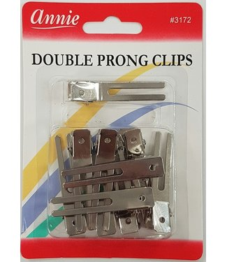 ANNIE Double Prong Clips