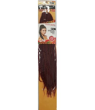 MAGIC GOLD COLLECTION N03 Senegal Twist Braid 22""