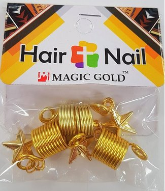 MAGIC GOLD COLLECTION Hair + Nail Gold Star