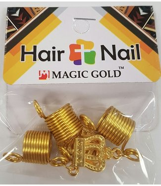 MAGIC GOLD COLLECTION Hair + Nail Crown