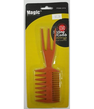 MAGIC GOLD COLLECTION Double fish comb