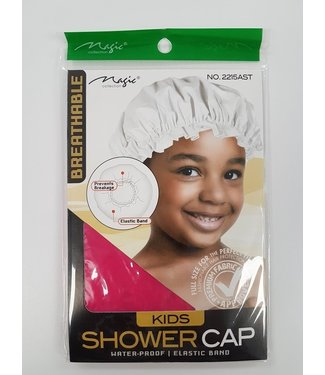 MAGIC GOLD COLLECTION Kids Shower Cap Assorted
