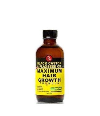 ECO STYLE Maximum Hair Growth Oil [Black Castor & Flaxseed Oil