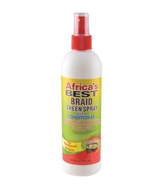 AFRICAN ESSENCE Braid Sheen Spray 12oz