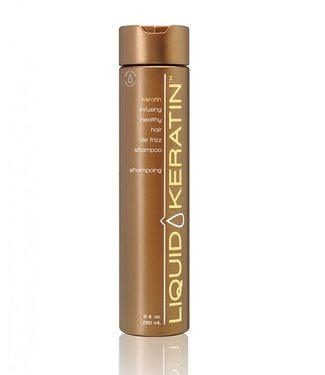 LIQUID KERATIN PROFESSIONAL Keratin De-Frizz  Shampoo 8 oz