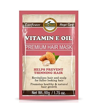 SUNFLOWER DIFEEL Premium Hair Mask - Vitamin E Oil