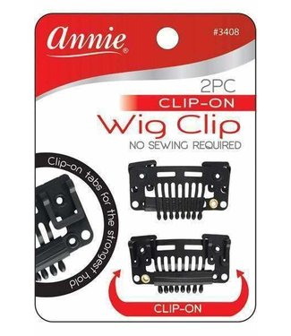 ANNIE 2PC Clip On Wig Clip