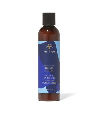 AS I AM Dry & Itchy Scalp Care Leave-In Conditioner (8oz)