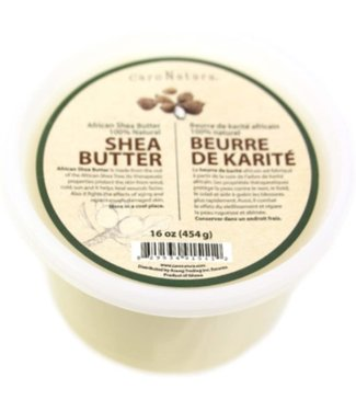 CARE NATURA 100% Natural Pure  African Shea Butter (16oz