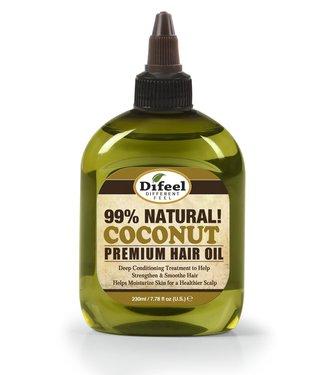SUNFLOWER DIFEEL 99% Natural Blend Premium Hair Oil  - Coconut Oil