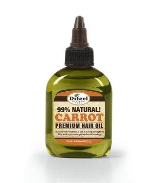 SUNFLOWER DIFEEL 99% Natural Blend Premium Hair Oil  - Carrot Oil 2.5oz