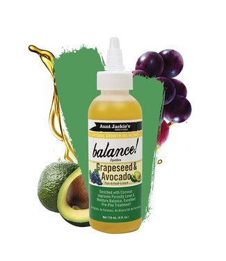 AUNT JACKIE'S Balance grape seed avocado