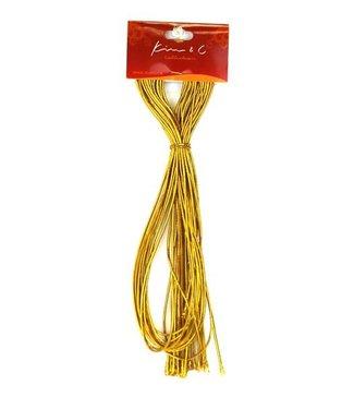 KIM & C Braiding Cord - Gold