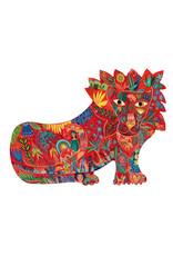 Djeco Lion 150pc Shaped Puzzle
