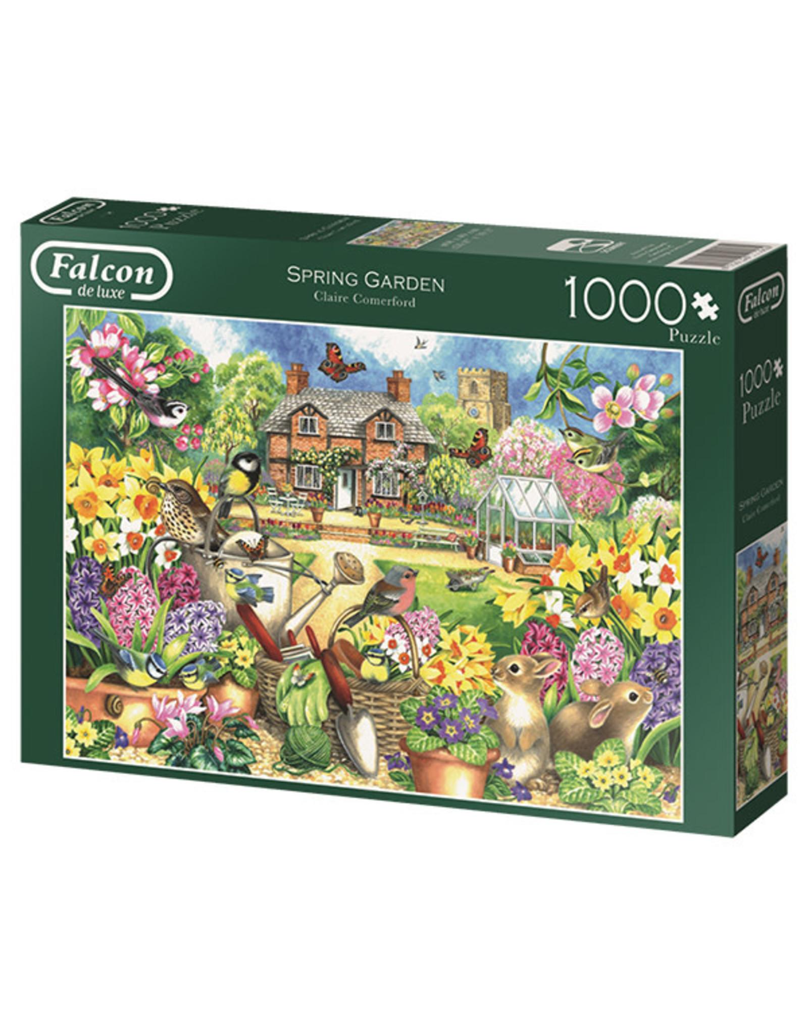 Falcon Spring Garden 1000pc Puzzle