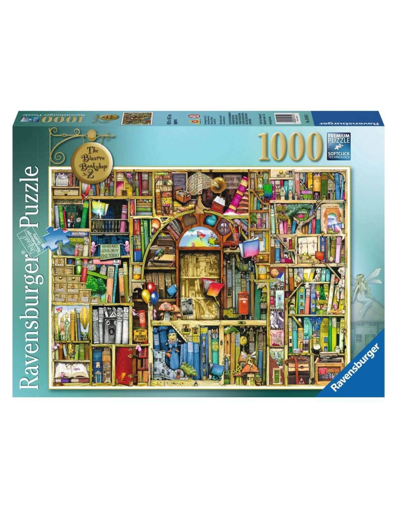 Ravensburger The Bizarre Bookshop 2 1000pc Puzzle