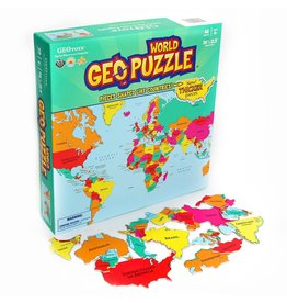 Geo Toys World Geo Puzzle 68pc