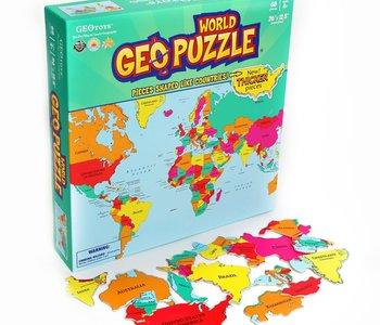World Geo Puzzle 68pc