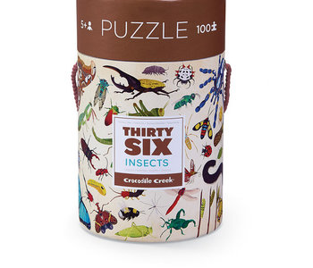 36 Insects 100pc Puzzle
