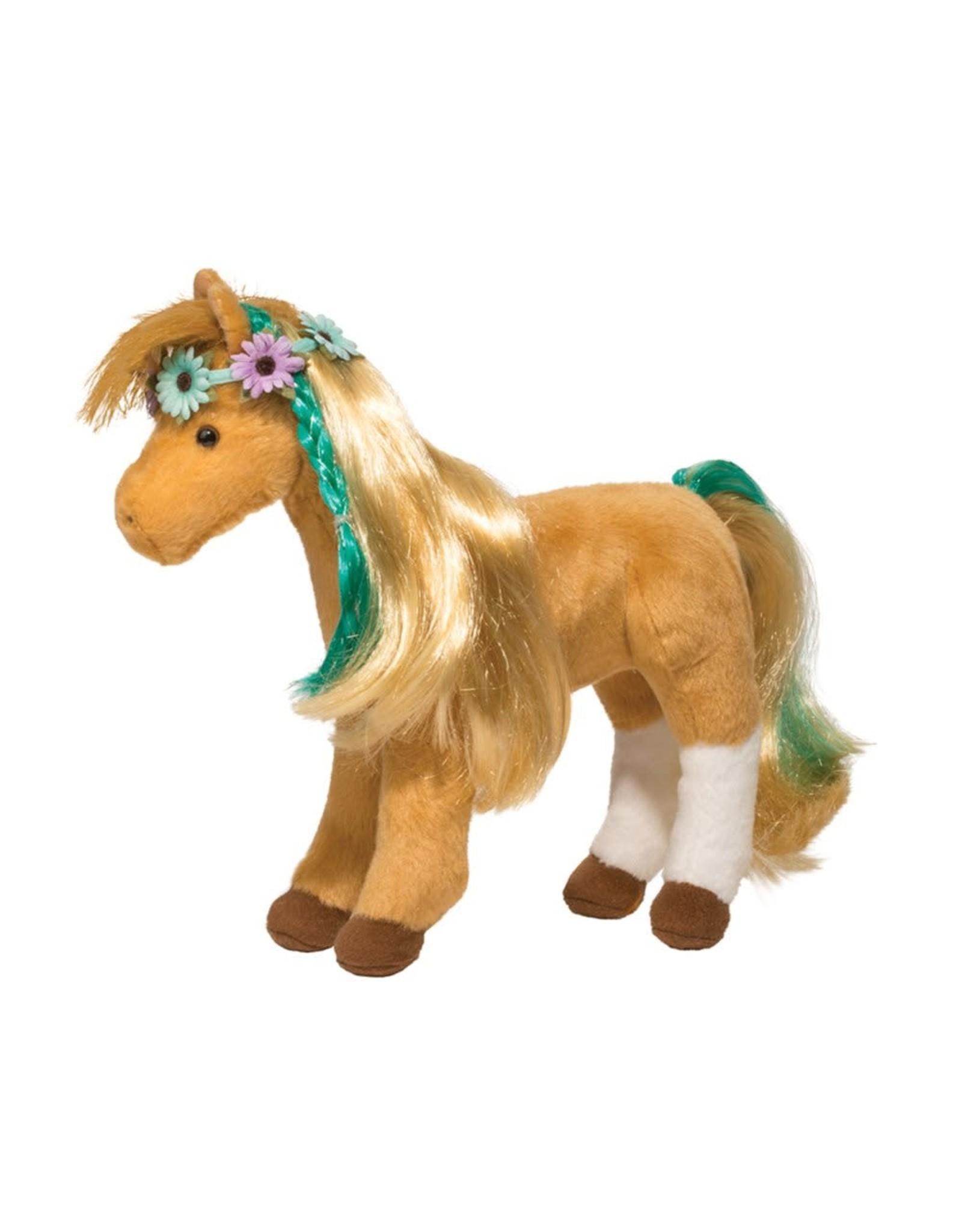 Douglas Daisy Horse Plush with Brush