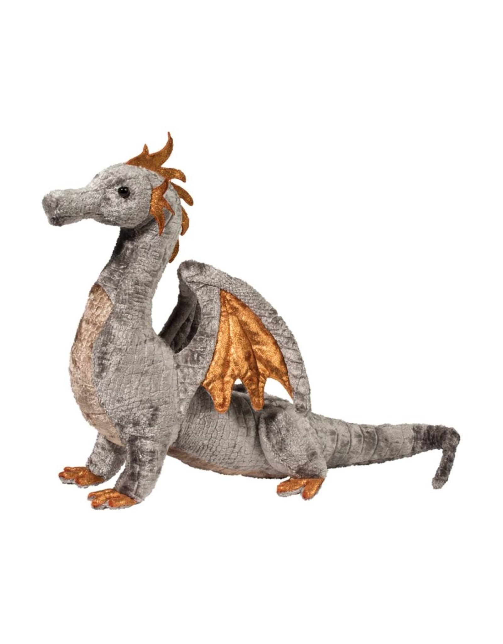 Douglas Faust Silver Dragon Plush