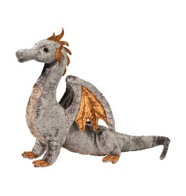 Douglas Faust Silver Dragon Plush