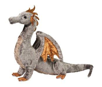 Faust Silver Dragon Plush