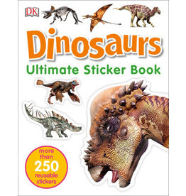 DK DK Ultimate Sticker Book: Dinosaurs