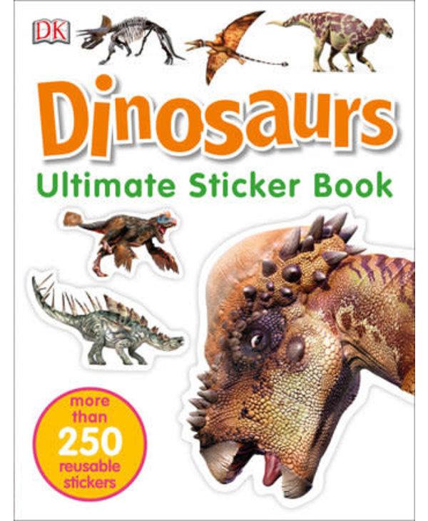DK Ultimate Sticker Book: Dinosaurs